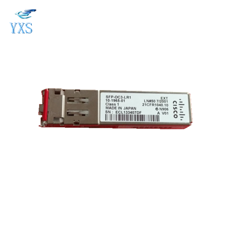 OC3 Single Mode 1310nm 40km SFP Optical Module Compatible with Switch SFP-OC3-LR1 new new packard j9100b c j9099b c sfp 15km fast single fiber bidirectional optical module bidi