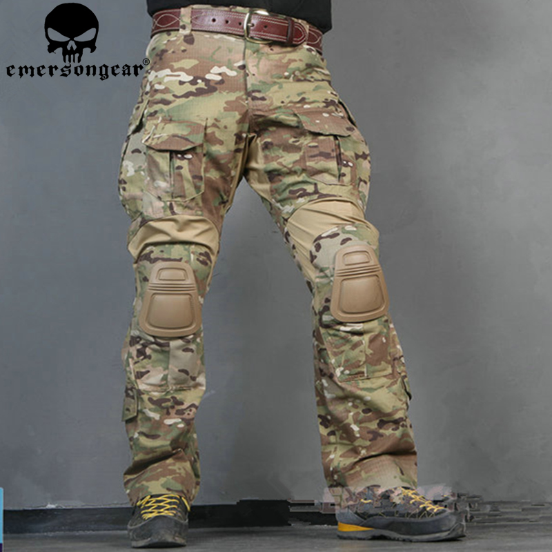 Combat-Pants Multicam Emerson Military G3 BDU with Pads