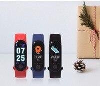Xiao Mi M3S Smart Bracelet Couleur-écran IP67 Fitness Tracker la pression artérielle Moniteur de Fréquence Cardiaque bande À Puce Pour Android IOS téléphone