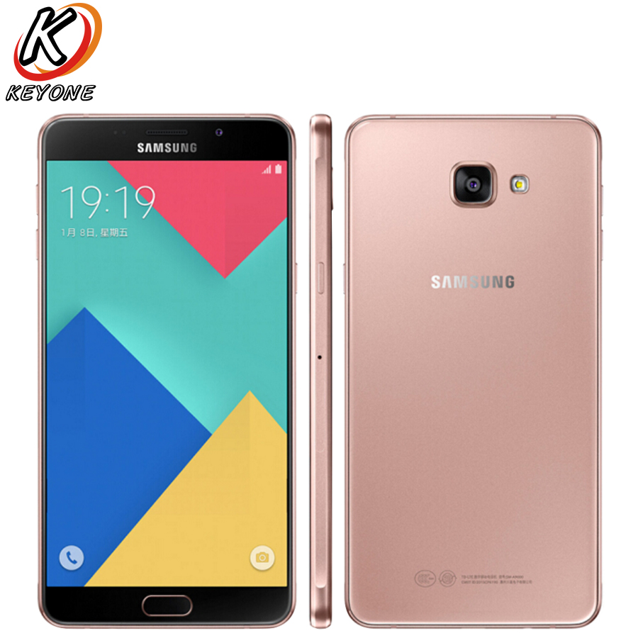 Original Samsung Galaxy A9 A9000 LTE Mobile Phone 6.0″ 3GB RAM 32GB ROM Octa Core 13MP 1920×1080 4000mAh Dual SIM Fingerprint