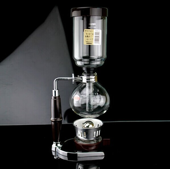 High Quality 3 cups Japan style Siphon coffee maker Hario Syphon maker Tea Siphon pot