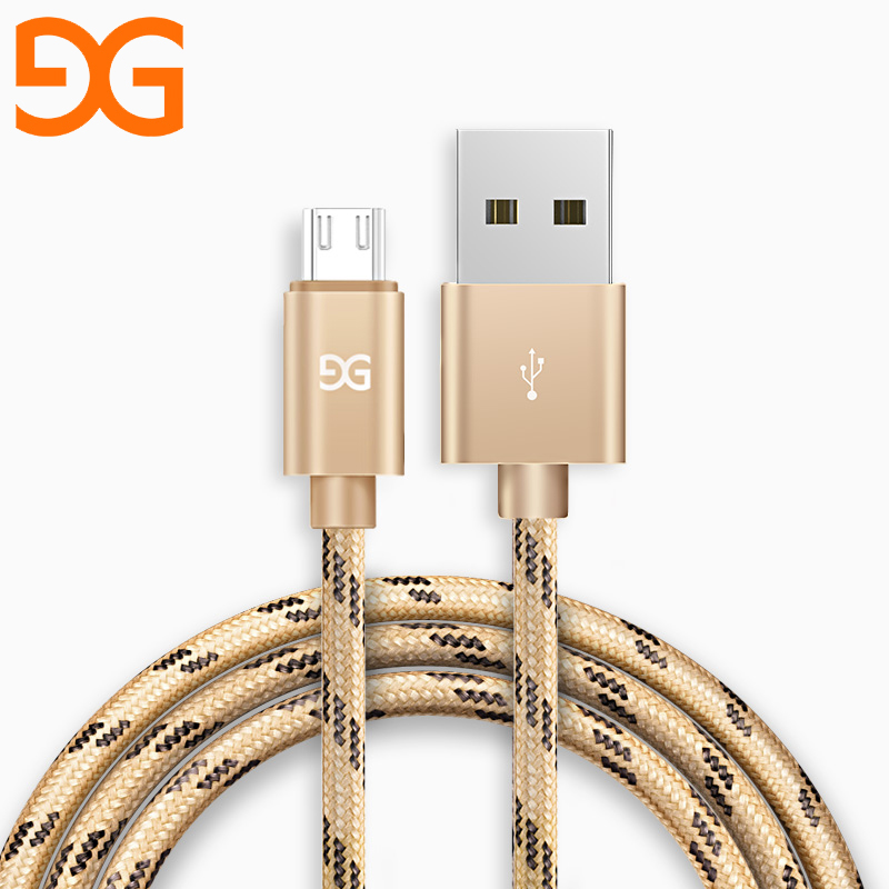 GUSGU Micro USB Cable For Samsung Huawei USB Charger Cable For Xiaomi Redmi 4X 4 Pro