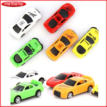 10PCS Toy Cars For Child Hot Wheels Mini Car Model Kids Toys For Boys Candy Color Juguetes Car Plastic Toys Diecasts Vehicles