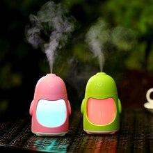 Knewfun Creative Cute Penguin Humidifier USB Air Humidifier For Home Car Office Mini Desktop Mute Diffuser
