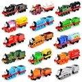 Мода детские игрушки металлические магнитные Томас и Друзья железнодорожный поезд голову вагон игрушки