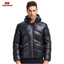 MALIDINU 2019 New Men Down Jacket Winter Thick Warm Coat Brand 70%White Duck Outwear Fashions Jackets