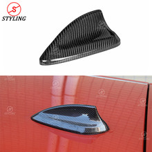 Carbon Fiber Antenna Cover Shark Fin trim For BMW F15 F20 X1 F48 X5 F16 F21 F26 F45 F46 F49 X5M F85 X6M F86 2014-2016 2017 2018+ pair matte black m color front left right side kidney grille grill for bmw x5 f15 x6 f16 x5m f85 x6m f86 2014 2015 2016 2017
