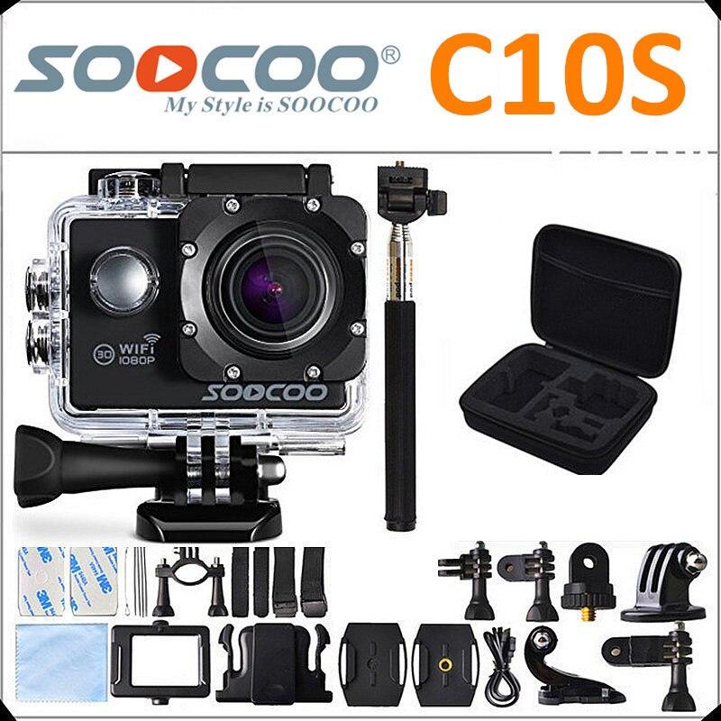 Soocoo c10s acción cámara novatek 96655 12mp full hd 1080 p cámara del deporte w
