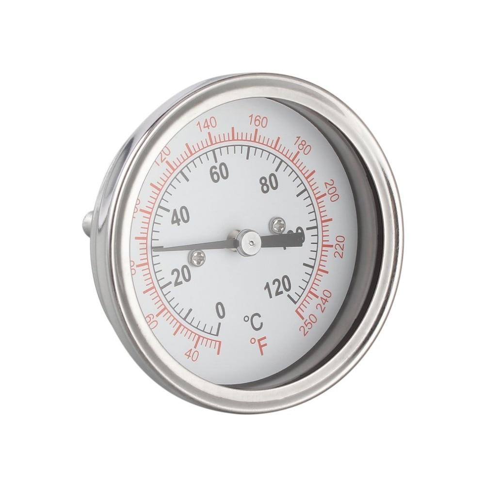 Barbecue Termometro Industriale Termometro Per UN Moonshine Still A Condensatore Brew Pentola Strumenti di Temperatura In Acciaio Inox a Caldo