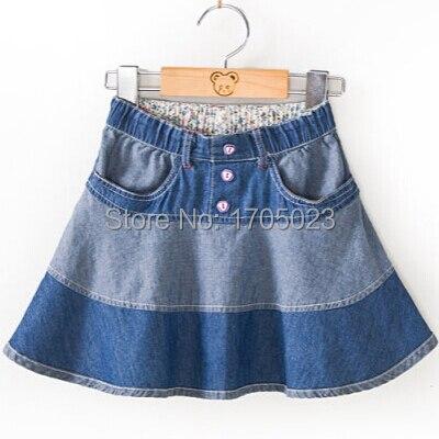 2015 Baru Bayi Perempuan Balita Celana Jeans Pendek Rok