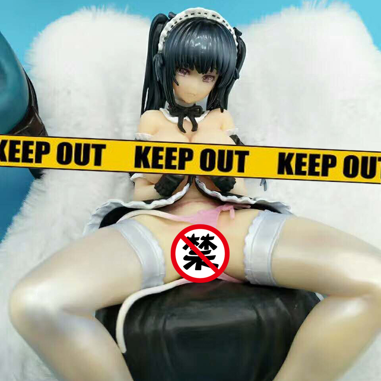 15cm Japanese sexy anime figure Native Hisasi PEACH AMI sexy girl maid ver action figure collectible model toys for boys