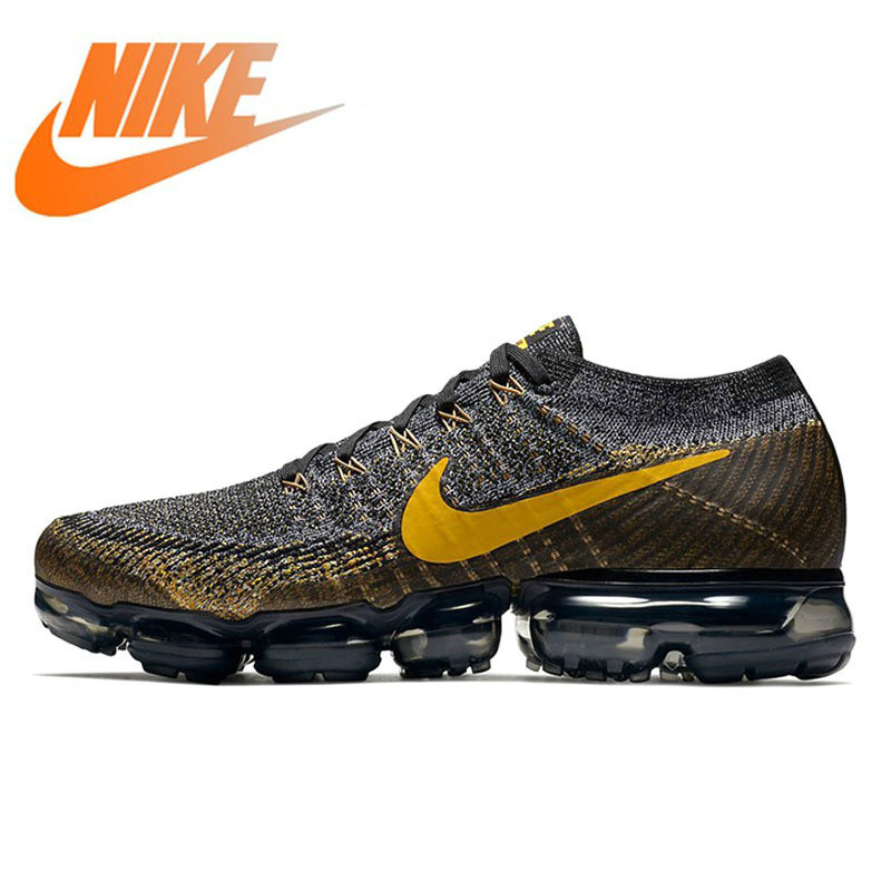 Official Authentic Nike Air VaporMax Flyknit Mens Running Shoes Outdoor Sports Shoes Designer High Quality Wear 849558-009Official Authentic Nike Air VaporMax Flyknit Mens Running Shoes Outdoor Sports Shoes Designer High Quality Wear 849558-009