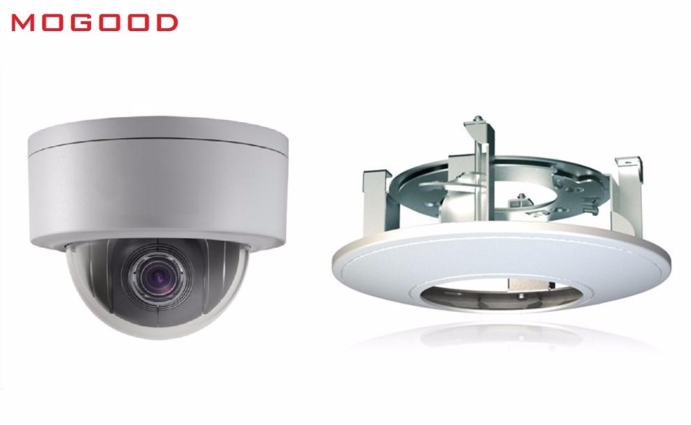 HIKVISION DS-2DE3304W-DE Englsih Version 3MP IP Camera Mini PTZ Camera Include DS-1227ZJ-PT6 Embedded Bracket Support Waterproof hikvision hiwatch ds т200 3 6