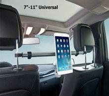 """Venta Directa de fábrica 7 """"-11"""" tabletas de aluminio titular de montaje para ipad mini 2 3 4 aire 2 para samsung xiaomi soporte de la tableta del soporte del coche"""