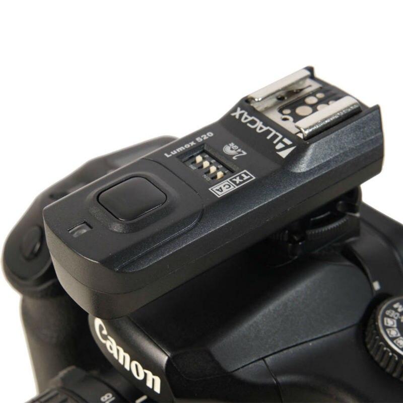 Lumox 520 2.4GHz 4In1 Trigger Kit Radio Wireless Trigger Starter Kit, Shutter Release, for NIKON D70s, TTL pass-through 1TX+1RX
