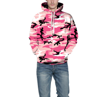 Mens Hip Hop Hoodies Camouflage Sweatshirt 2017 Autumn Long Sleeve Hooded Tracksuit Male Sweat Shirts Homme