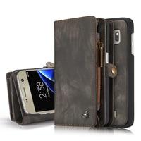 Original CaseMe Case For Samsung Galaxy S7 Case Luxury Genuine Leather Multifunction Phone Bag For Samsung