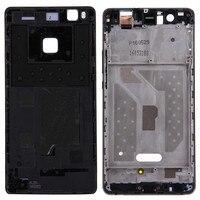 Dla Huawei P9 Lite Battery Back Cover + Obudowa Przednia Rama Bezel Plate Wymiana LCD Smartfon Back Cover
