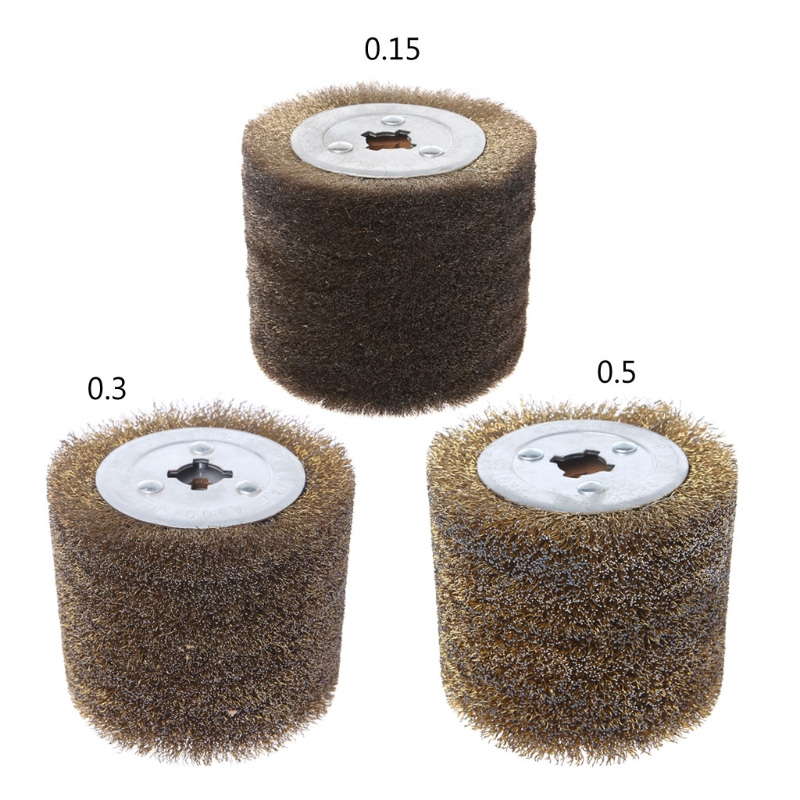 Deburring Abrasive Stainless Steel Wire Round Brush Polishing Grind Buffer Wheel