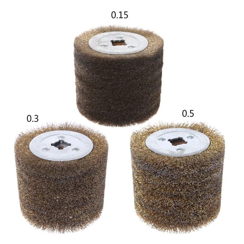 Deburring Abrasive Stainless Steel Wire Round Brush Polishing Grind Buffer Wheel
