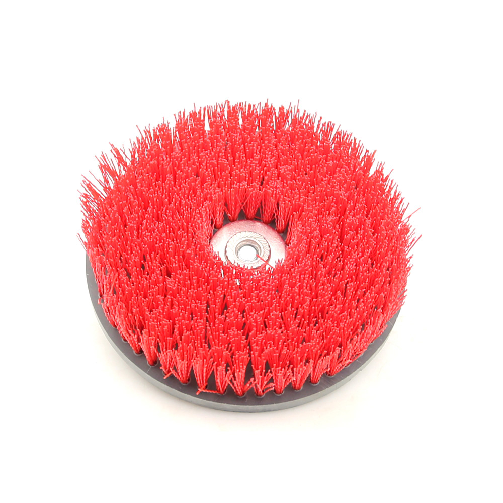 Kind-Hearted 1 Piece 7*m14 Round Disc Clean Brush For Cleaning Stone Mable Ceramic Tile Wooden Floor Plastic Thick Carpet Cloth Choice Materials Tools