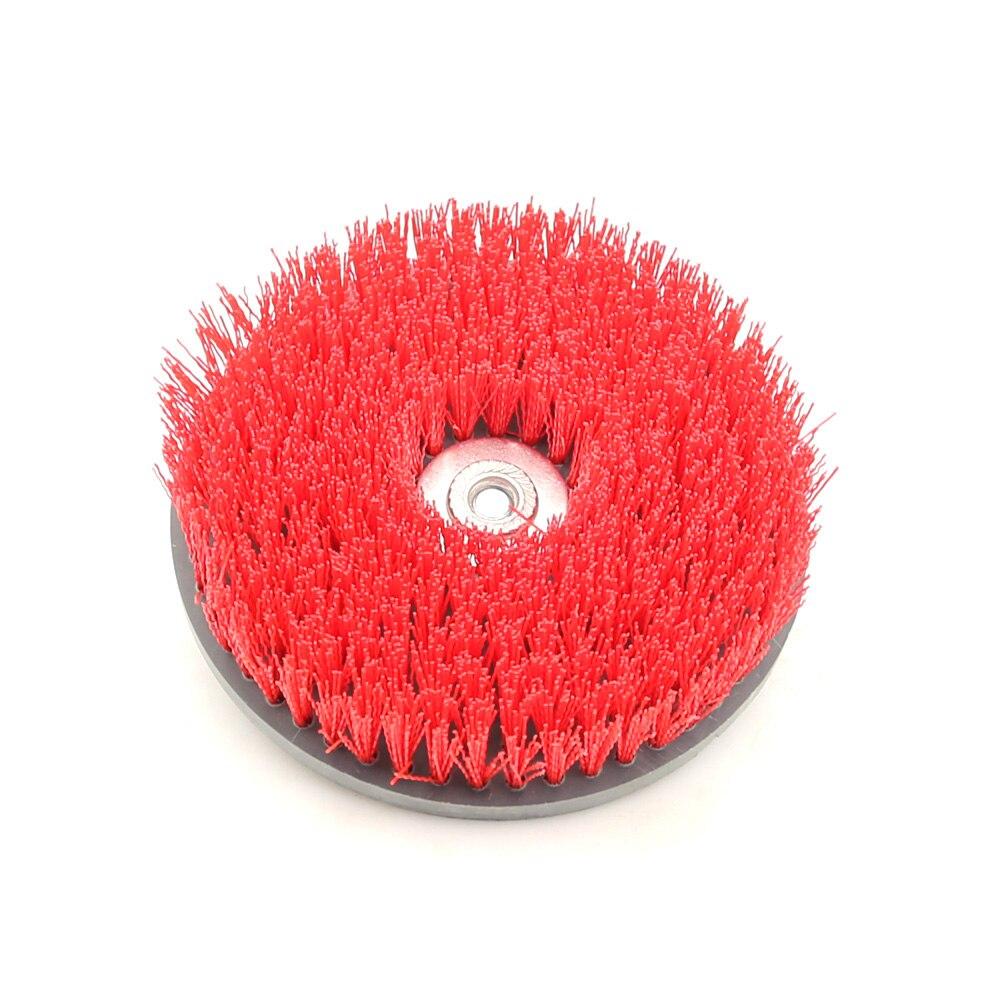"""1 stuk 7 """"* M14 Ronde Schijf Schoon Borstel voor Cleaning Steen Mable Keramische tegel Houten vloer Plastic Dikke tapijt Doek"""