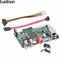 GADINAN 4 Channel DVR 1080N AHD TVI CVI CVBS IP Five IN One ONVIF VGA HDMI