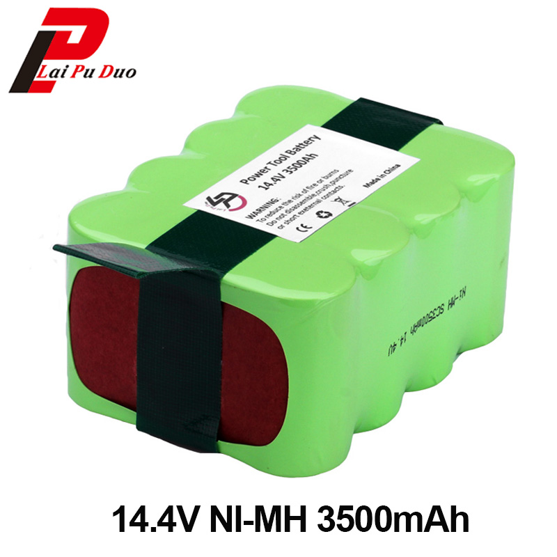 NI-MH 14.4V 3500mAh Cleaner Battery For Vacuum Cleaning Robot A320 A325 A335 A336 A33 A338 Battery for a335 a338 a325 a320 robot vacuum cleaner power adapter european type two pin round shape
