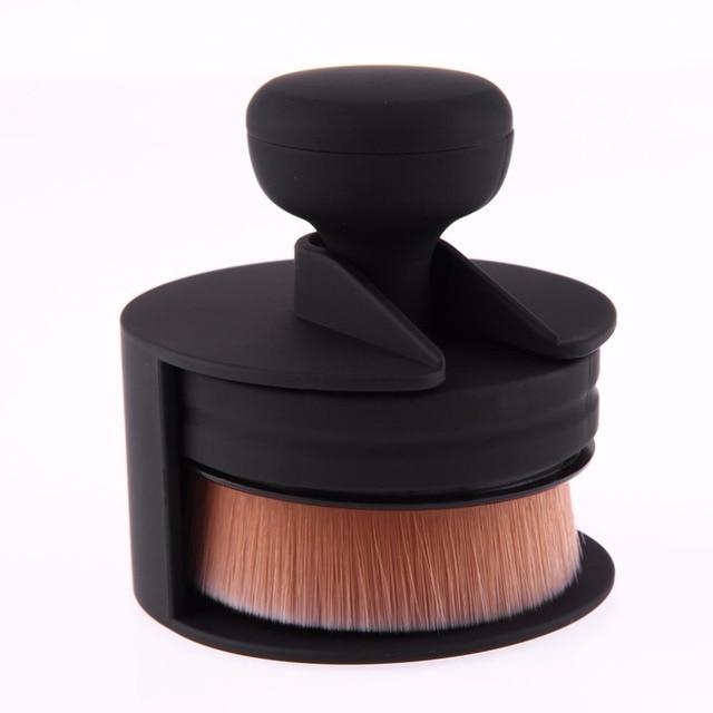 1 PC Single Push-Pull Portable Makeup Brush O Shape Seal Stamp Make up Brushes Foundation Powder Blush Brush Pincel Maquiagem 1