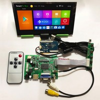 7 1024*600 IPS LCD Module Monitor Display + HDMI/VGA/2AV Board + Capacitive Touch Panel w/ USB Controller for Windows & Android