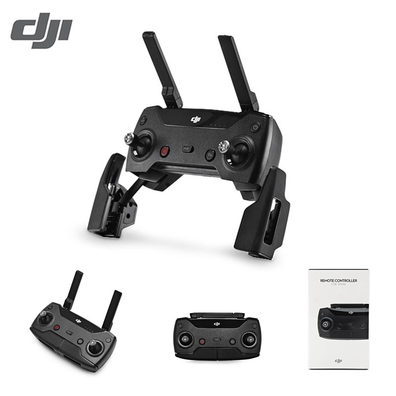 Original DJI Transmitter 2km Video Transmission Range/2.5h Operation Time RC Remote Controller for DJI Spark Mini RC Drone