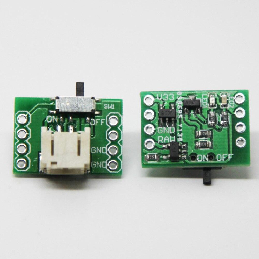LiPo battery charger add-on for Cactus Micro and BlueDuino вольтметр 50v 50a lifepo4 lipo tf01n
