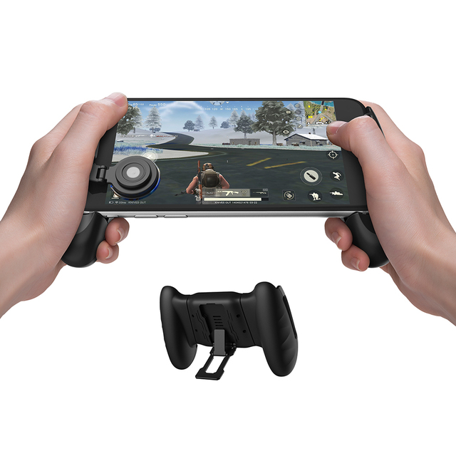 Gamesir F1 Gamepad Game controller Phone Analog Joystick Grip for All Android & iOS SmartPhone Playing PUBG-Like, FPS Games
