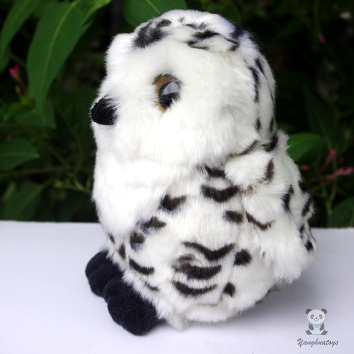 Stuffed Animal Toys Owl Doll Kid Gift Real Life Plush Toy Ornaments