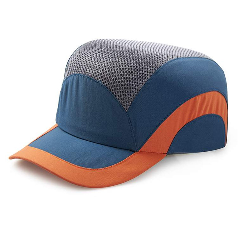 Men's Safety Baseball Bump Caps Lightweight Blue Safety hard hat head protection Cap туфли derimod туфли