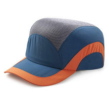 Men's Safety Baseball Bump Caps Lightweight Blue Safety hard hat head protection Cap(China)
