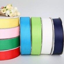 Лидер продаж нескольких цветов ширина 38 мм (5 ярдов) Grosgrain ленты для Свадебная вечеринка украшения рукоделие Подарочная упаковка Скрапбукинг Craft