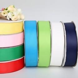 Offre spéciale Multi couleurs largeur 38MM (5 Yards) rubans gros-grain pour décoration de fête de mariage bricolage emballage cadeau Scrapbooking artisanat