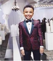 Boys Tuxedo Boys Dinner Suits Boys Formal Suits Tuxedo for Kids Tuxedo Formal Occasion White And Black Suits For Little Boy