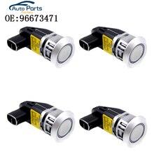4 PCS New Sensori di Parcheggio Per Chevrolet Captiva di Assistenza Al Parcheggio Sensore Ad Ultrasuoni 96673471 96673467