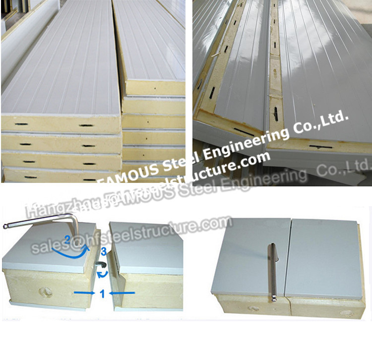 Use Polyurethane Sandwich Panels Walk In Refrigerator Cost