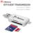 Leitor de cartão microsd TF de armazenamento externo usb 3.0 cartão SD adaptador para apple iphone 6 s 7 plus ios10 multi-uso de metal pendrive