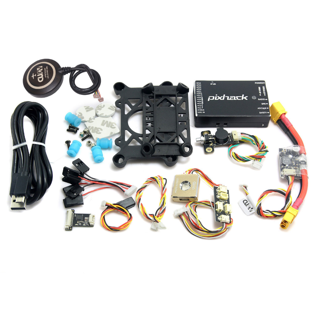 Upgraded FPV CUAV Pixhack Flight Control V2 8 3 Combo with M8N GPS for Quadcopter font