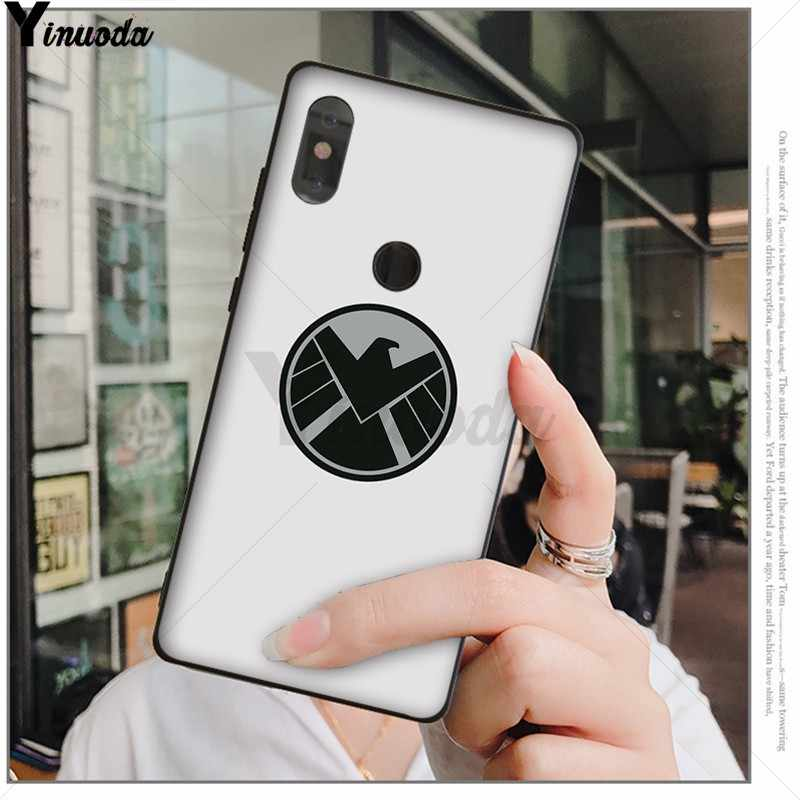 Yinuoda أعجوبة وكلاء Shield من درع أسود جراب هاتف قذيفة ل شياو mi الأحمر mi 5 5 زائد Note4 4X Note5 6A mi 6 mi x2 mi x2S