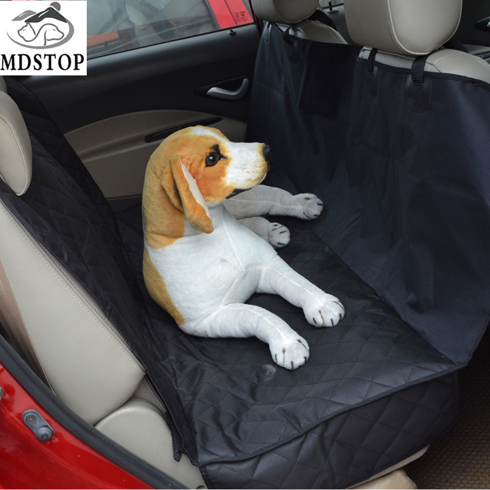 MDSTOP New Washable Barrier Hammock Pet Seat Cover for Car Truck Suv Rear Back Seat Universal Waterproof Vehicle Dog Cat Mat