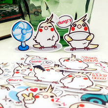 40pcs/bag Birds love to speak Animal album Scrapbook waterproof decoration stickers DIY Handmade Gift Scrapbooking sticker(China)
