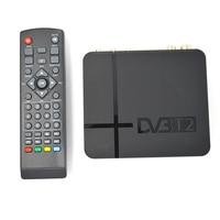 HD DVB T2 Digital Terrestrial Receiver Set Top Box With Multimedia Player H 264 MPEG 2