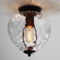 European Style Retro Balcony Ceiling Lamp Restaurant Creative Lighting Pineapple Crystal Glass Ceiling luminaire Fixture
