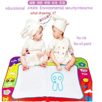 Gift Christmas Doodle Painting Picture Water Drawing Play Mat in Drawing Toys Board add Water with Magic pen 80 x 60cm