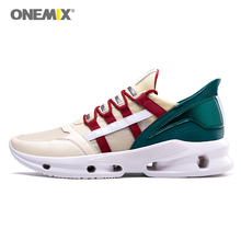 ONEMIX Men Running Shoes Fashion Sneakers Technology Trend Athletic Trainer Tennis 2019 New Design